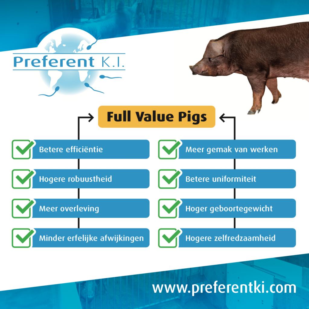 full value pigs